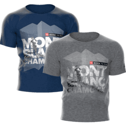 Compressport - Training t-shirt - Mont Blanc