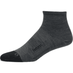 Feetures Merino10 Ultra Light Quarter - Grå