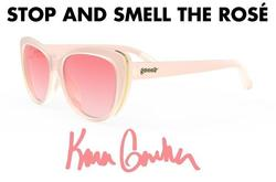goodr Runway Sunglasses - Stop And Smell The Rose
