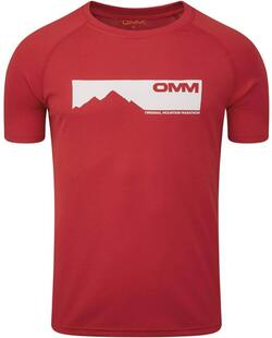 OMM - Trail Tee - Red