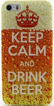 "iphone6 Cover - ""Keep Calm and Drink Beer"""