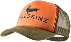 Sealskinz Trucker Cap - Orange/Green