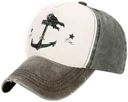 Skipper Trail Baseball Cap - Black/Grey