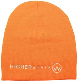 Orange Higher State Beanie