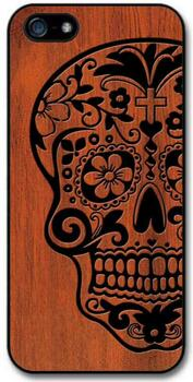 iphone6 & iphone7 Cover - Wooden Skull