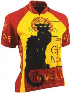 Retro Jersey - Chat Noir - Woman.