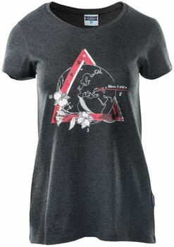 Elbrus Summit - Dame t-shirt - Dark Grey
