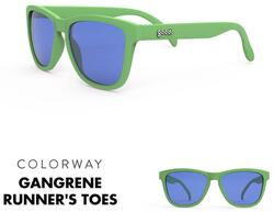 goodr Sunglasses - Gangrene's Runner's Toe