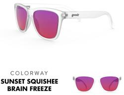"goodr Sunglasses - Sunset ""Squishee"" Brain Freeze"