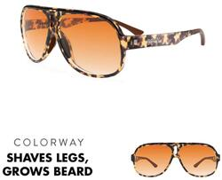 goodr Super Flys Sunglasses - Shaves Legs, Grows Beard