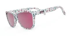 goodr Sunglasses - What in Carnation?!