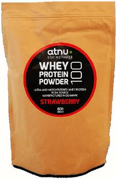 atnu Whey 100 Protein Strawberry - 800 g.