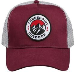 Threepoint - Badge Cap - Burgundy