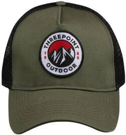 Threepoint - Badge Cap - Olive Green