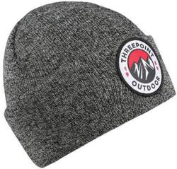Threepoint - Badge Beanie - Antique Grey