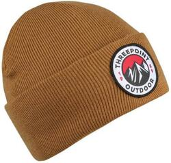 Threepoint - Badge Beanie - Caramel