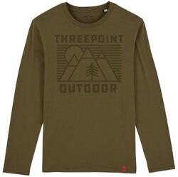 Threepoint - Outdoor Lines LS-shirt - Khaki