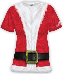 Womens Santa - Running Shirt