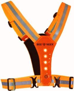 LED refleks harness vest - Orange
