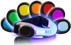 LED safety band Multicolor
