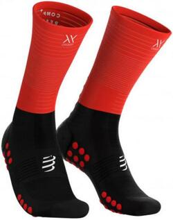 Mid Compression Socks - Black / Red