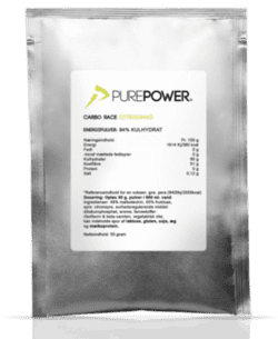 PurePower Carbo Race Citrus - 50 g