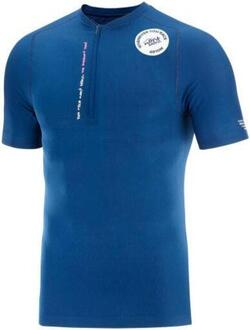 Compressport - Trail Half-Zip Fitted SS Top - Mont Blanc 2020