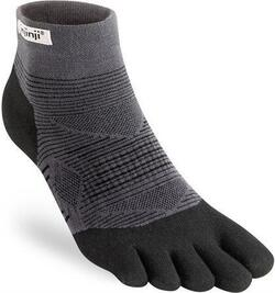 Injinji - Performance Run - Lightweight Mini Crew - Black/Grey