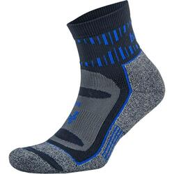 Balega - Ink Cobalt Mohair Blister Resist Quarter