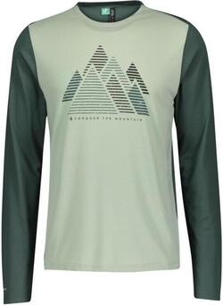 Scott - Mens Shirt - Defined DRI Graphic - Smoked Green