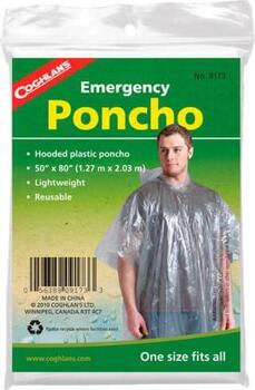 Emergency Poncho - Klar