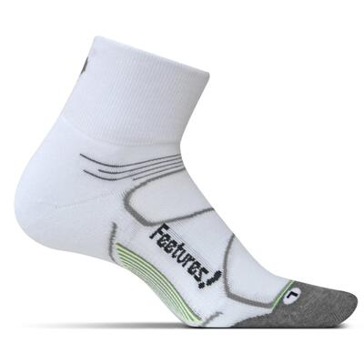 Feetures Elite Ultra Light Quarter - White