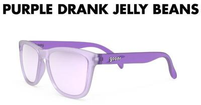 goodr Sunglasses - Purple Drank Jelly Beans