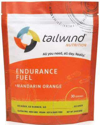 TAILWIND Endurance Fuel Mandarin/Orange Medium - 30 serv.