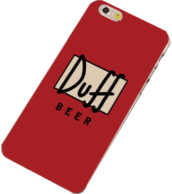 iphone6 Cover - Duff Beer