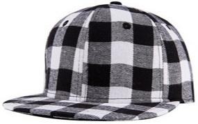 Black / White Snapback Cap