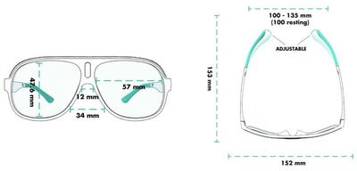 goodr Super Flys Sunglasses - Lance's Afternoon Uppers