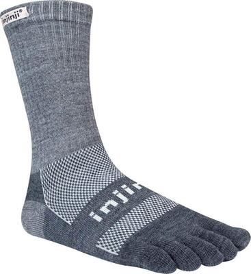 Injinji - Performance Outdoor Nüwool - Crew - Charcoal