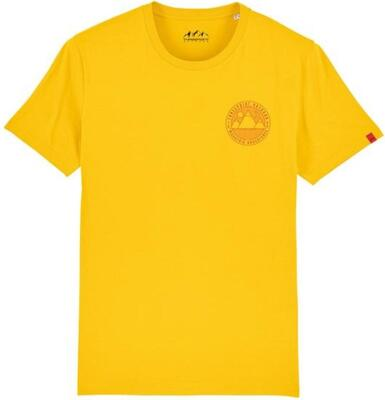 Threepoint - Mountain Adventures T-shirt - Spectra Yellow