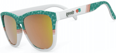 goodr Sunglasses - Flamingos can fly too