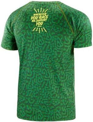 Compressport - Training t-shirt - Camo Neon Green