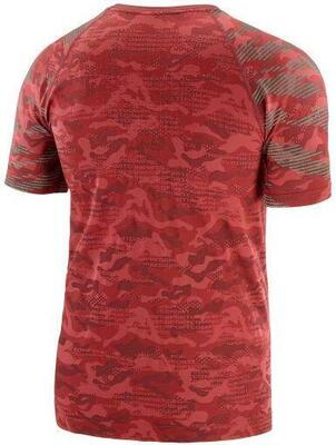 Compressport - Training t-shirt - Camo Neon Red