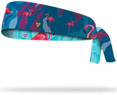 Lithe - Flamingo Tie Headband (Vendbar)