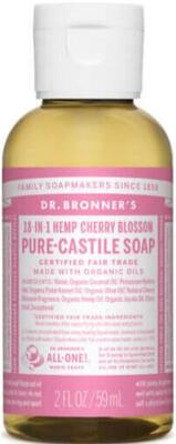 Dr. Bronner´s  Liquid Soap - Cherry Blossom - 60 ml.