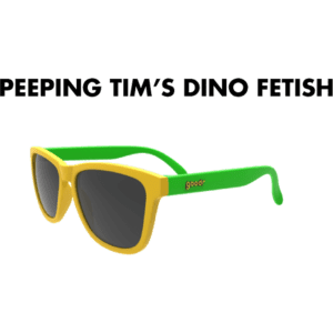 goodr Sunglasses - Peeping Tim´s Dino Fetish
