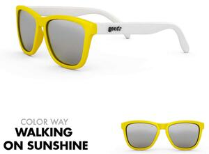 goodr Sunglasses - Walking on Sunshine