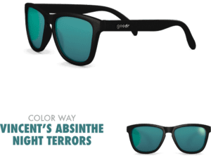 goodr Sunglasses - Vincent´s Absinthe Night Terrors