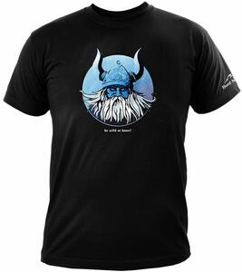 Wild Viking t-shirt - sort