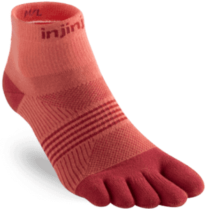 Injinji - Run Performance Lightweight Mini-Crew Women - Orange