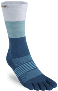 Injinji - Trail Performance Midweight Crew Women - Blue/White